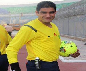 نور الدين يعتذر عن إدارة مباراة الزمالك وسموحة في نهائي الكأس