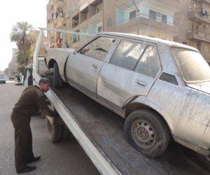 المرور: رفع السيارات المركونة في الشوارع والميادين قبل شهر رمضان