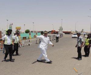 المرور يجرى تحويلات مرورية لحين رفع حطام حادث طريق إسكندرية الصحراوى