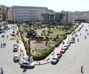 فصل طالبة من جامعة بني سويف بسبب فعل فاضح أمام المدينة الجامعة