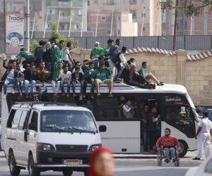 حشود بورسعيدية تصل الإسماعيلية لمؤازرة المصرى أمام كمبالا (صور)
