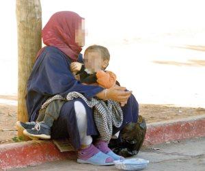 تضامن دمياط تكشف سيدة تحضر يوميا من بورسعيد للتسول في دمياط