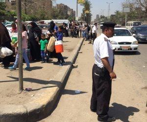 ضبط 6879 مخالفة متنوعة في حملة مرورية في الجيزة