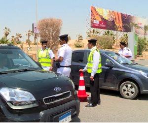 المرور: فتح طريق الزعفرانة أمام حركة السيارات بعد تحسن اﻷحوال الجوية