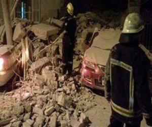 استخراج أربعة جثامين من أسفل أنقاض عقار سفلاق المنهار في سوهاج