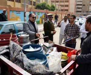 ضبط 300 كيلو أسماك غير صالحة للاستهلاك الآدمي في سوهاج