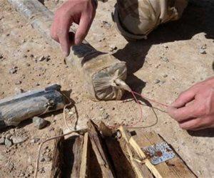 العثور على معمل للتفخيخ وصناعة العبوات الناسفة بالعراق قرب الحدود مع سوريا