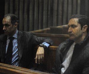 """الجنايات تؤجل محاكمة علاء وجمال مبارك في """"التلاعب بالبورصة"""""""