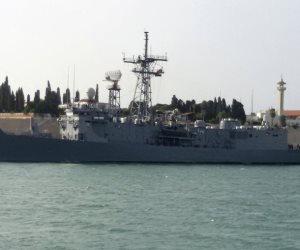 البحرية المصرية تنفذ تدريبا بحريا عابرا بنطاق البحر المتوسط مع قوات باكستانية
