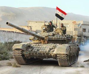 مقتل 9 عناصر من داعش خلال معارك مع الجيش السوري بريف حمص الشرقي