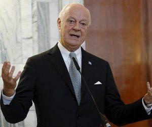 الموفد الأممي إلى سوريا يطالب المعارضة بتشكيل وفد موحد لمباحثات جنيف