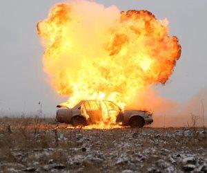 انفجار سيارة مفخخة تسفر عن مقتل 60 جنديا سوريا
