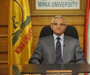 وقفة تندد بتفجير مسجد الروضة في جامعة المنيا الإثنين