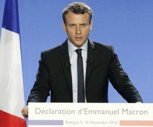 أول تعليق من ماكرون بعد وصوله لكرسي رئاسة فرنسا