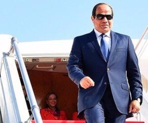 الرئيس السيسي يصل القاهرة قادما من الإمارات