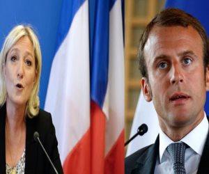 الانتخابات الفرنسية.. ماكرون يحصد 65.5 % ولوبان 34.5%