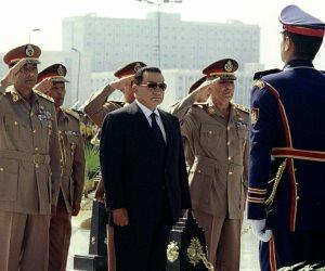 أبناء مبارك يحتفلون بـ«صورا نادرة للرئيس الأسبق» في ذكرى تحرير سيناء