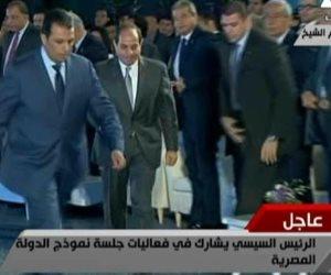 الرئيس يعلن افتتاح مؤتمر الشباب.. ويغادر القاعة
