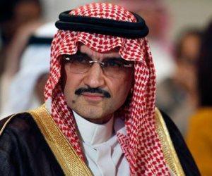 الأمير الوليد ابن طلال يغادر مطار شرم الشيخ