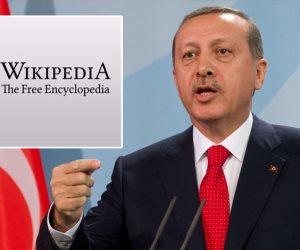 أردوغان يعتقل ويكيبيديا