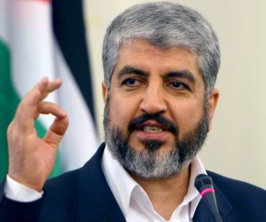 خالد مشعل: حربنا مع إسرائيل ليست دينية بل ضد احتلال صهيوني