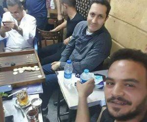 صاحب «قهوة إمبابة»: علاء مبارك حريف طاولة.. ورفض يتكلم في السياسة (فيديو)