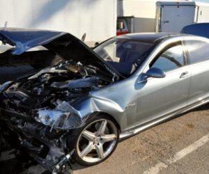 إصابة شخصين في حادث تصادم سيارتين ملاكي بكفر الشيخ