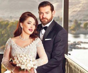 القصة الكاملة لشائعة القبض على عمرو يوسف وكندة علوش في كمين الجيزة