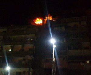 نيابة منشأة ناصر تنتدب المعمل الجنائي لكشف ملابسات حريق اندلع بشقة سكنية