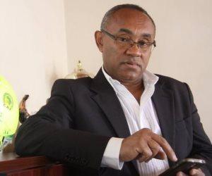رئيس الكاف: مصر هي وطني الأول.. وأهنئ السيسي برئاسة الاتحاد الإفريقي (فيديو)