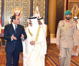 النص الكامل لكلمة ملك البحرين ترحيبا بالرئيس السيسي
