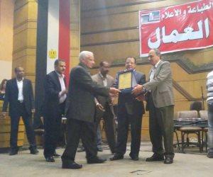 «الصحافة والطباعة» تكرم قدامى النقابيين بحضور عبدالمحسن سلامة