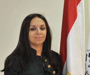 مايا مرسي خلال مشاركتها في مؤتمر الروتاري: أتمنى دخول المرأة لمجلس الدولة