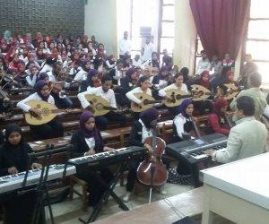 رئيس جامعة أسوان يشهد الحفل الختامي لمشروع تخرج طلاب التربية النوعية