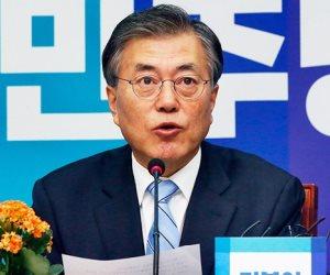رئيس كوريا الجنوبية يبحث نزع النووى مع نظيره الأمريكى فى شبه الجزيرة