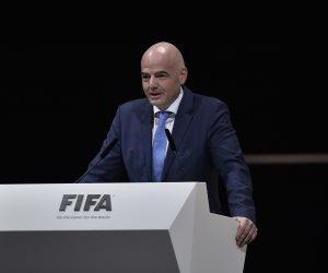 إنفانتينو يشيد باستعدادات روسيا لاستضافة كأس القارات