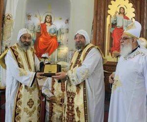 الكنيسة المصرية تشارك الكندية في احتفال اليوبيل الفضي (صور)