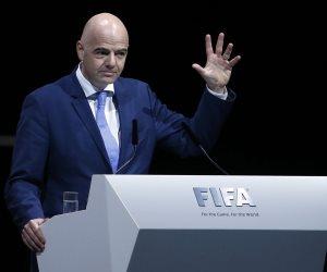 جيانى إنفانتينو يصف الفيفا الجديد بأنه مكان للديمقراطية