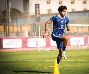محمد هاني يسجل الهدف الثالث للأهلى في مرمى النصر (فيديو)