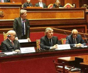 النص الكامل لكلمة «عبد العال» أمام برلمانية الاتحاد الأوربي من أجل المتوسط