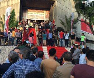 """انطلاق مهرجان """"السجادة الحمراء"""" لأفلام حقوق الإنسان في غزة"""