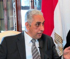 سفير مصر ببكين يهنئ الصين على نجاح منتدى الحزام والطريق فى كلمته بمنتدى الاستثمار المصرى الصينى