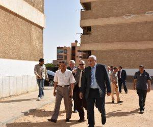 في زيارة مفاجئة.. رئيس جامعة المنوفية يتفقد المدن الجامعية بمدينة السادات