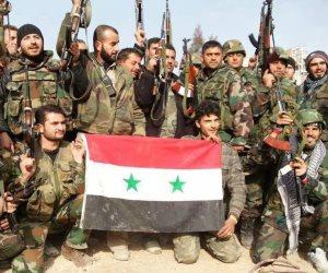 """الجيش العربي السوري تفرض سيطرتها على تلال الضفة  الشرقية والشمالية الغربية وتلاحق  إرهابيي """"داعش"""" بريف حمص"""
