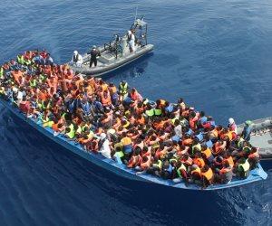 سفينة إيرلندية تنقذ 712 شخصا قرب ليبيا