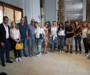 زيارة أسرة كريستيانو رونالدو إلى القاهرة في 40 صورة