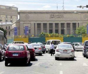 المرور: إغلاق 26 يوليو من طلعت حرب لرمسيس عاما بسبب المترو