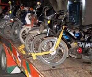 """ضبط عصابة سرقة الدراجات البخارية بأسلوب """"توصيل الاسلاك"""" بـ15 مايو"""