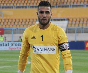 أحمد الشناوي يرحب بتجديد تعاقده مع الزمالك