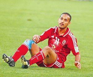 جلسة تأهيلية لوليد سليمان بسبب الإصابة قبل مباراة الفجيرة الودية